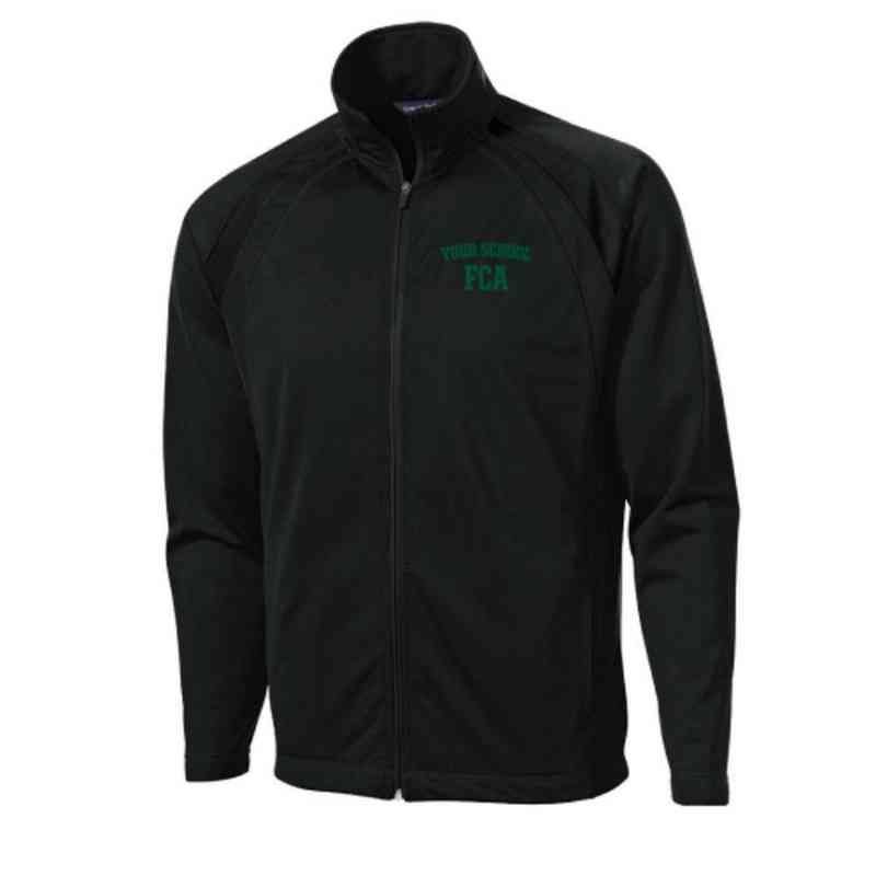 Men's FCA Embroidered Tricot Track Jacket