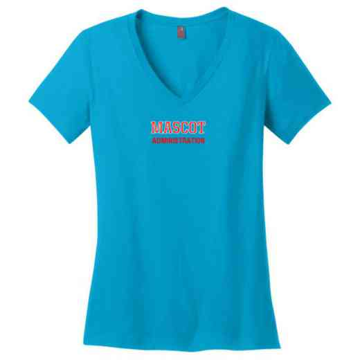 Administration Womens Cotton V-Neck T-shirt