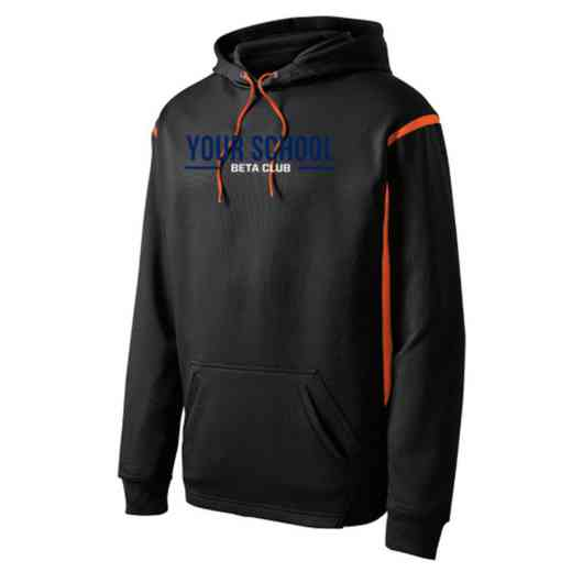 Adult Beta Club Athletic Fleece Hoodie