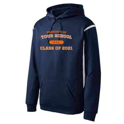 "Adult Class of """" Pride Athletic Fleece Hoodie"