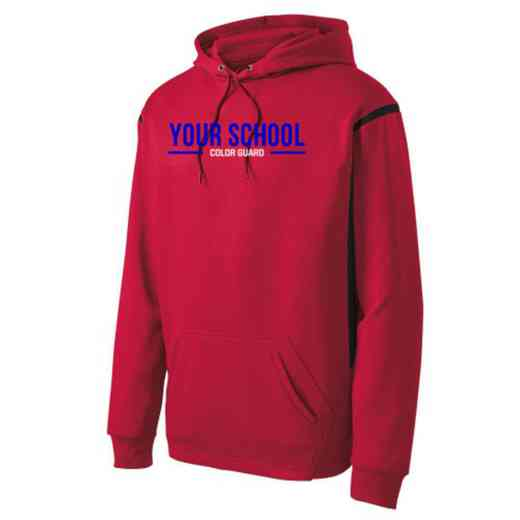 Adult Color Guard Athletic Fleece Hoodie