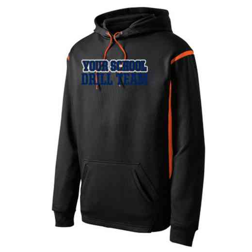 Adult Drill Team Athletic Fleece Hoodie