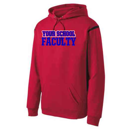 Adult Faculty Athletic Fleece Hoodie