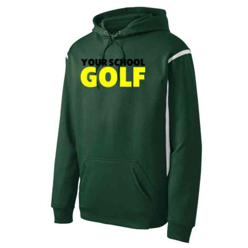 Adult Golf Athletic Fleece Hoodie