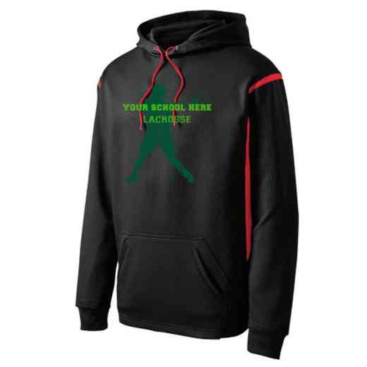 Adult Lacrosse Athletic Fleece Hoodie