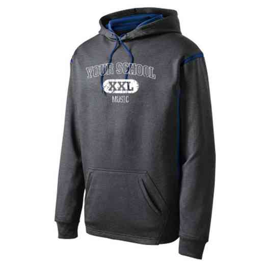 Adult Music Athletic Fleece Hoodie