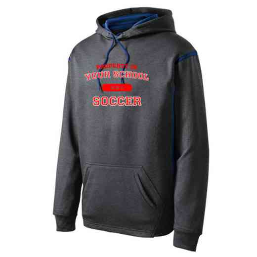 Adult Soccer Athletic Fleece Hoodie