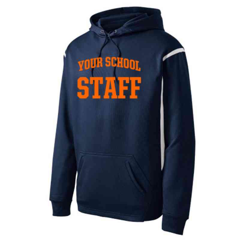 Adult Staff Athletic Fleece Hoodie
