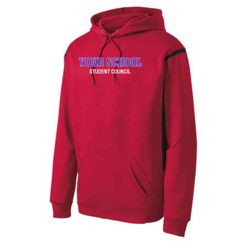 Adult Student Council Athletic Fleece Hoodie