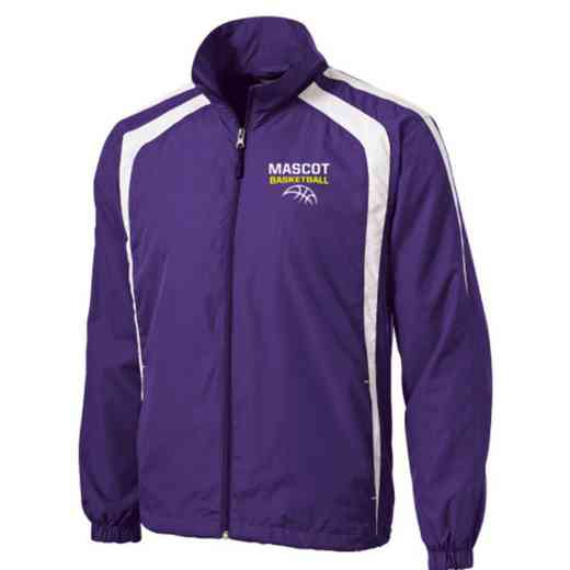 Men's Basketball Embroidered Lightweight Raglan Jacket