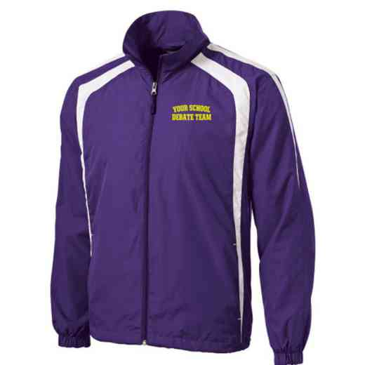 Men's Debate Team Embroidered Lightweight Raglan Jacket