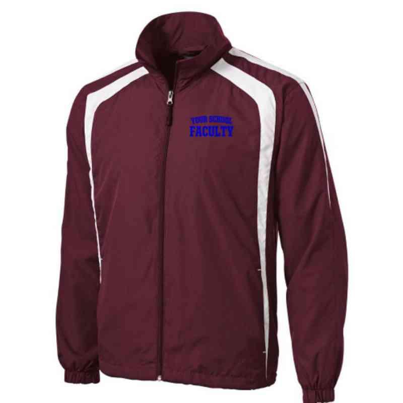 Men's Faculty Embroidered Lightweight Raglan Jacket