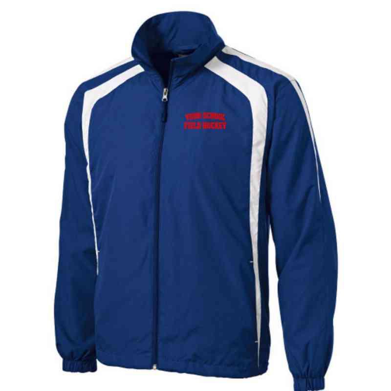 Men's Field Hockey Embroidered Lightweight Raglan Jacket