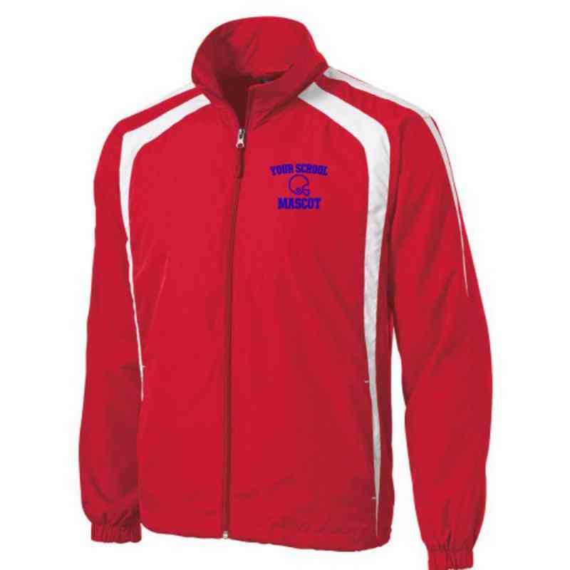 Men's Football Embroidered Lightweight Raglan Jacket
