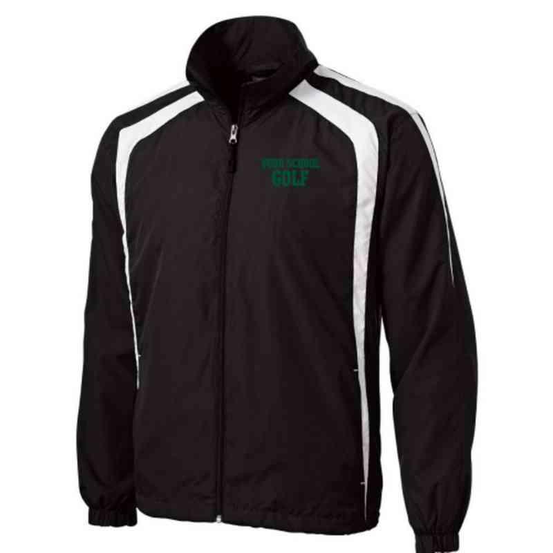 Men's Golf Embroidered Lightweight Raglan Jacket