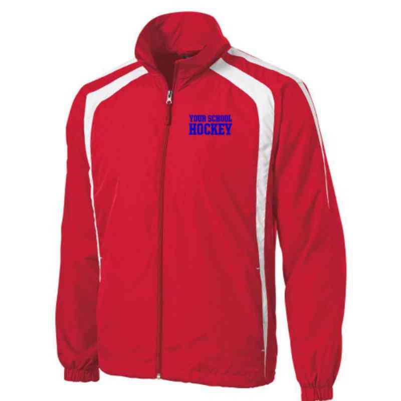 Men's Hockey Embroidered Lightweight Raglan Jacket