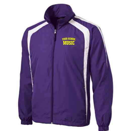 Men's Music Embroidered Lightweight Raglan Jacket