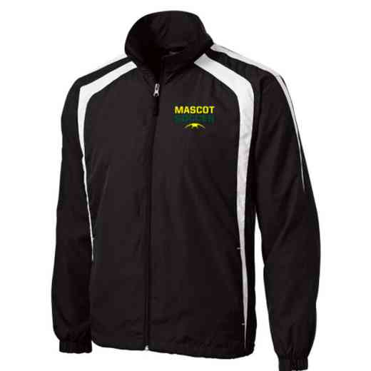 Men's Soccer Embroidered Lightweight Raglan Jacket