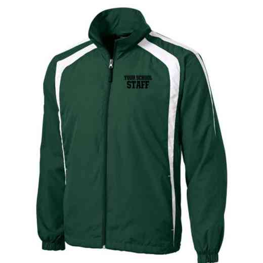 Men's Staff Embroidered Lightweight Raglan Jacket