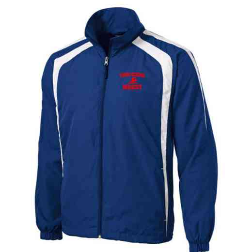 Men's Swimming & Diving Embroidered Lightweight Raglan Jacket