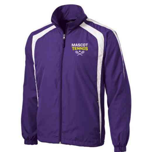 Men's Tennis Embroidered Lightweight Raglan Jacket