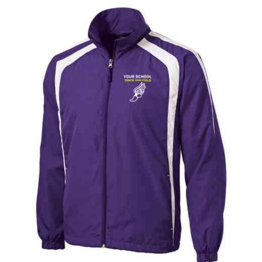 Men's Track & Field Embroidered Lightweight Raglan Jacket