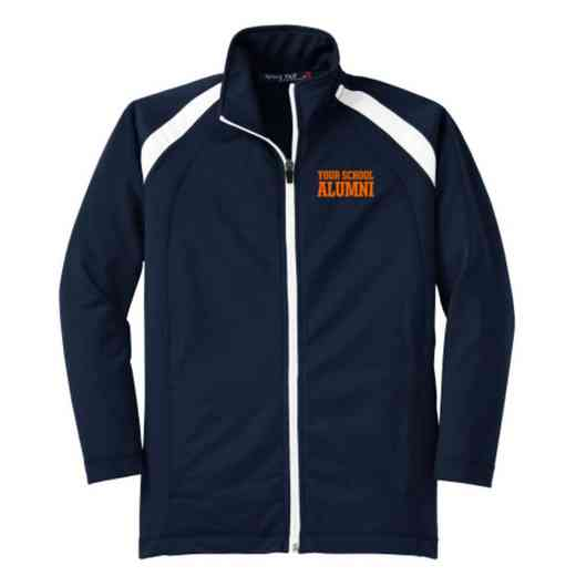 Youth Alumni Athletic Embroidered Tricot Track Jacket