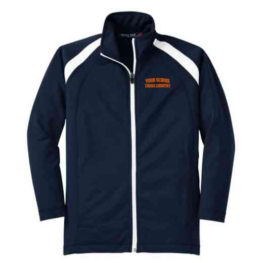 Youth Cross Country Athletic Embroidered Tricot Track Jacket
