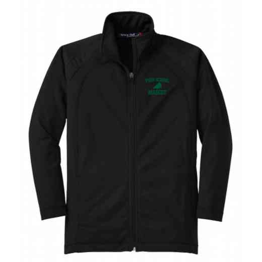 Youth Drill Team Athletic Embroidered Tricot Track Jacket