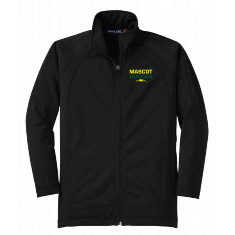 Youth Soccer Athletic Embroidered Tricot Track Jacket