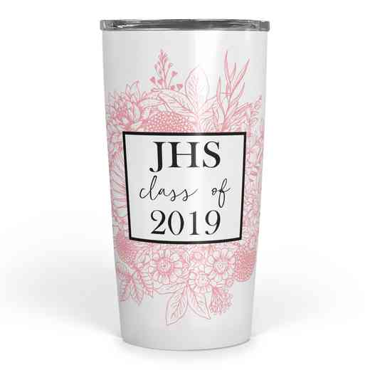 4628-F: Personalized SS Tumbler- 3 int Class of