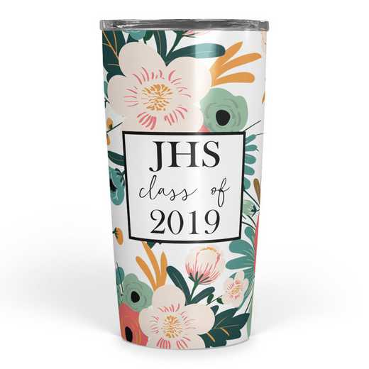 4628-G: Personalized SS Tumbler- 3 int Class of