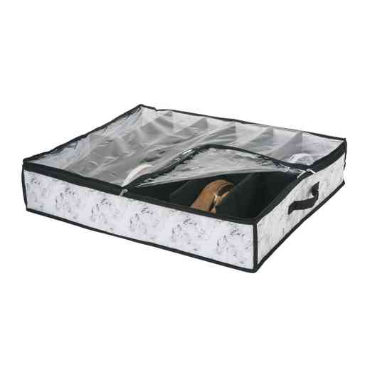 26839-MARBLE:  U-T-BED SHOE BOX 12PR-MARBLE