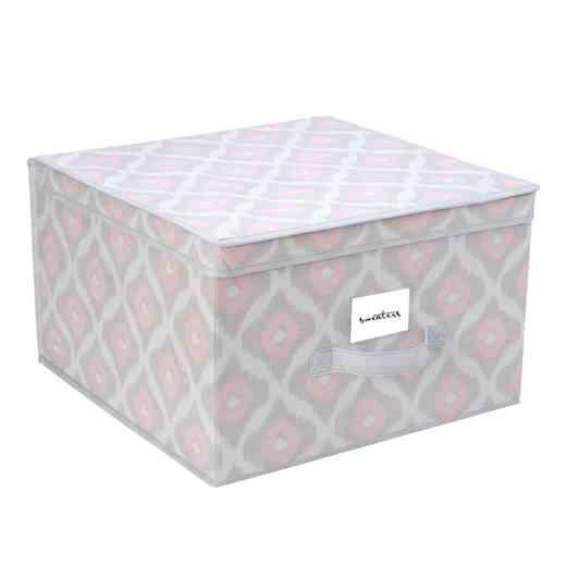 M-77802-CC:  NW STORAGE BOX-JUMBO 16X16X10 - IKAT