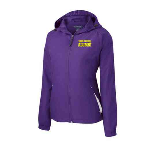Women's Alumni Embroidered Lightweight Hooded Raglan Jacket