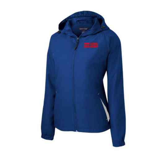 Women's Field Hockey Embroidered Lightweight Hooded Raglan Jacket