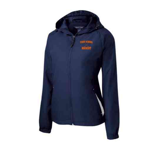 Women's Hockey Embroidered Lightweight Hooded Raglan Jacket