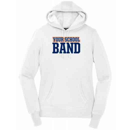 Women's Band Heavy Cotton Hoodie