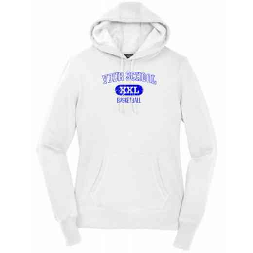 Women's Basketball Heavy Cotton Hoodie