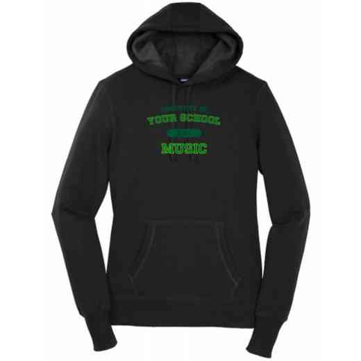 Women's Music Heavy Cotton Hoodie