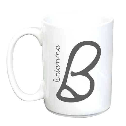 274800MLM: Large Ceramic Mug 15oz Initial & Name