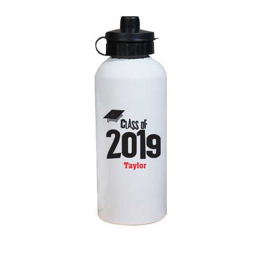 27790MWB: Water Bottle grad cap