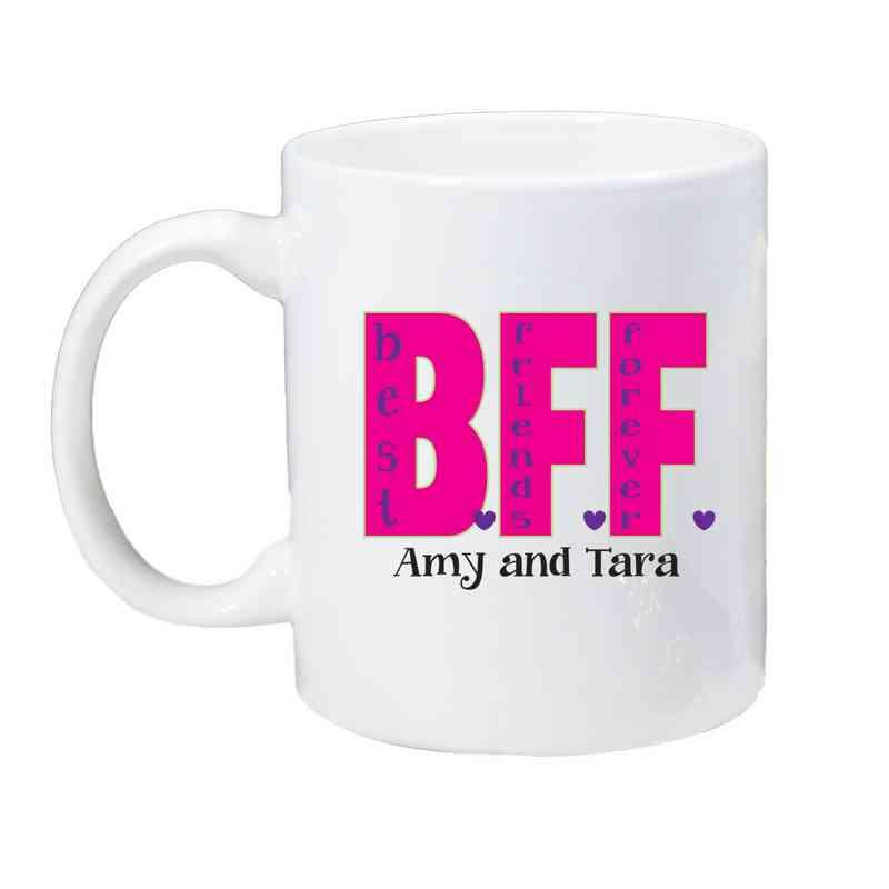 262170M: Coffee Mug White 11oz BFF