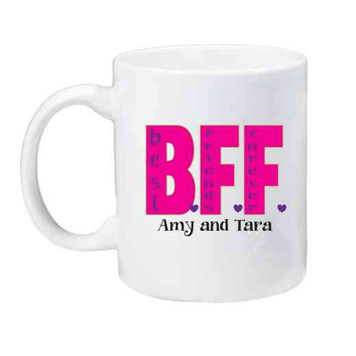 262170M: Coffee Mug White 11oz BFF