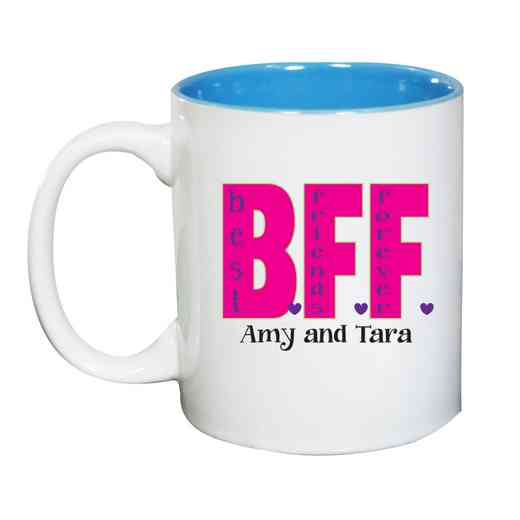 262170MLB: Two Toned LIGHT BLUE Ceramic Mug BFF