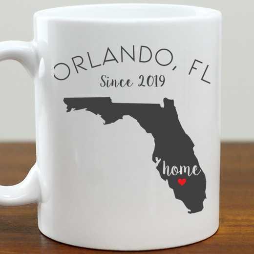 211062FL: Coffee Mug White 11oz FL