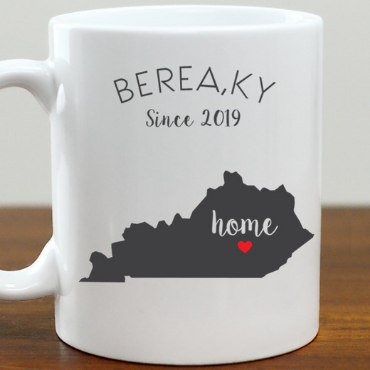 211062KY: Coffee Mug White 11oz KY