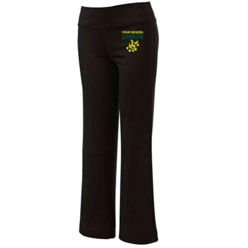 Choir Embroidered Yoga Pants