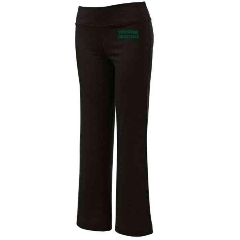 Color Guard Embroidered Yoga Pants