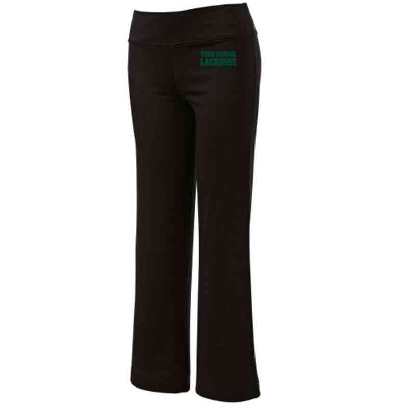 Lacrosse Embroidered Yoga Pants